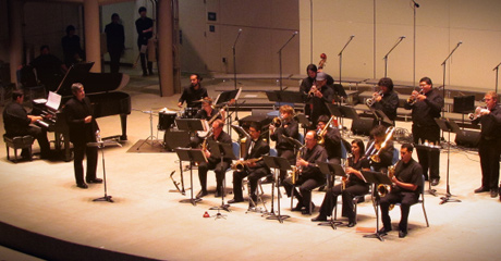 Directing the Bakersfield College Jazz Ensemble