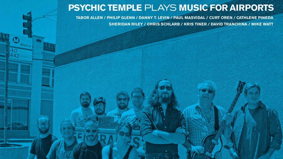 Two new LPs: Plays Music for Airports + Psychic Temple III